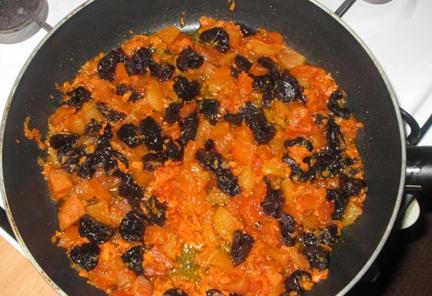 Вегетарианский плов с сухофруктами - фото шаг 2