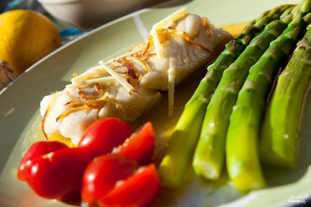 Рыба с соусом белое вино рецепт