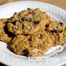 """Рецепт Шоколадное печенье """"Ракушки"""""""