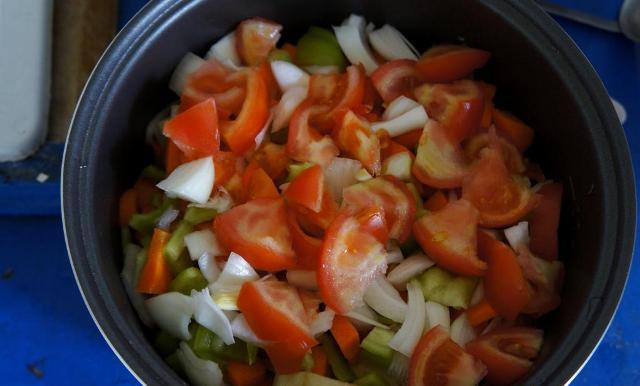 Тушеные овощи в мультиварке рецепты с фото