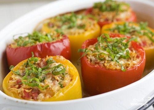 Рецепт Фаршированный болгарский перец