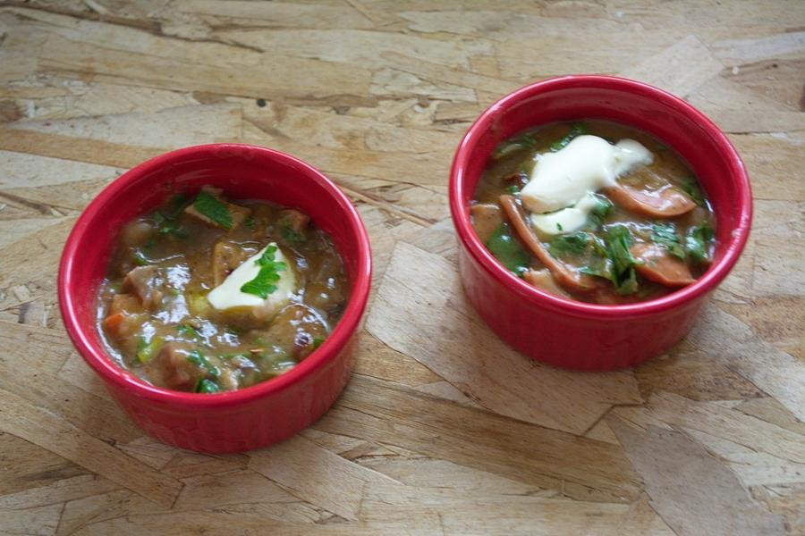 Завтрак из сосисок и яиц - фото шаг 6