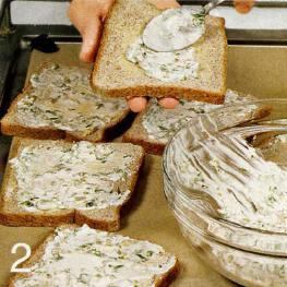 Куриный сандвич с кресс-салатом - фото шаг 2