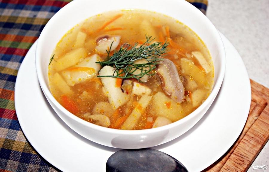 Суп с белыми грибами - фото шаг 5
