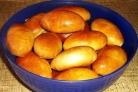 Пирожки на кефире в духовке без дрожжей