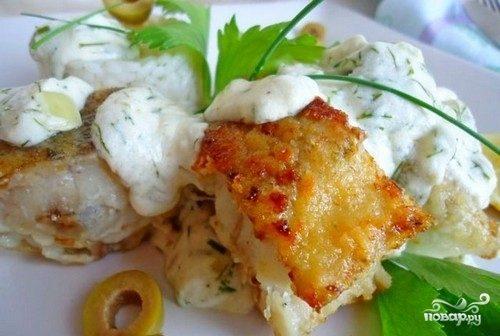 картошка под сливочным соусом в духовке рецепт