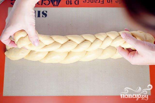 """Хлеб """"Косичка"""" - фото шаг 6"""