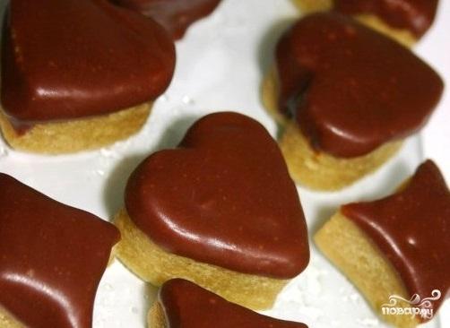 Конфеты в виде сердца