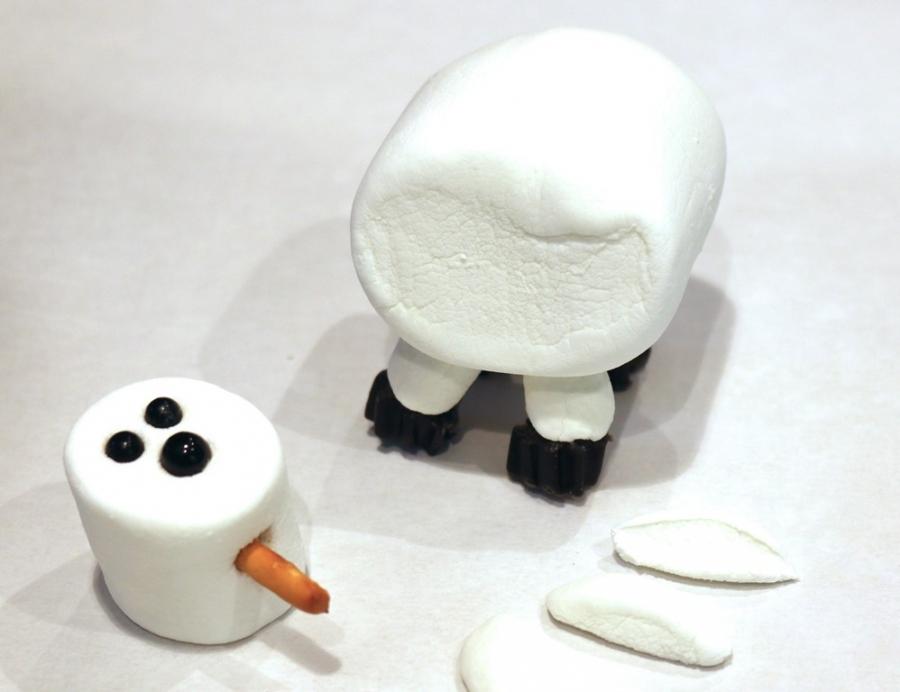"""Десерт """"Овца"""" без выпечки - фото шаг 3"""