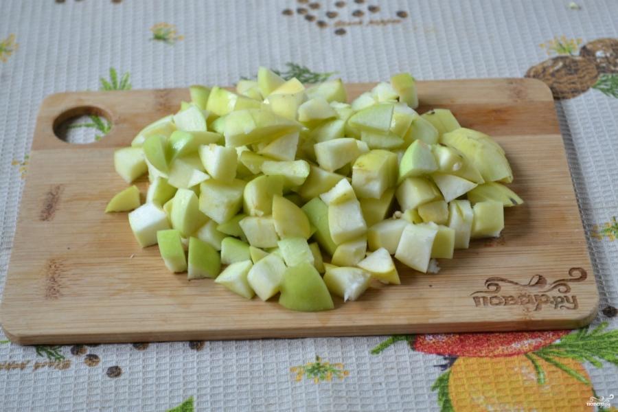 Кабачковая икра с яблоками на зиму - фото шаг 3