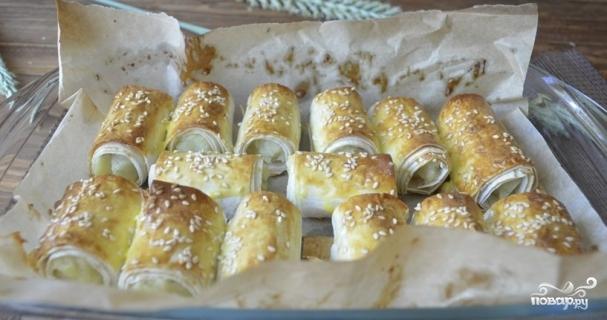 Лаваш с картофельным пюре - фото шаг 7