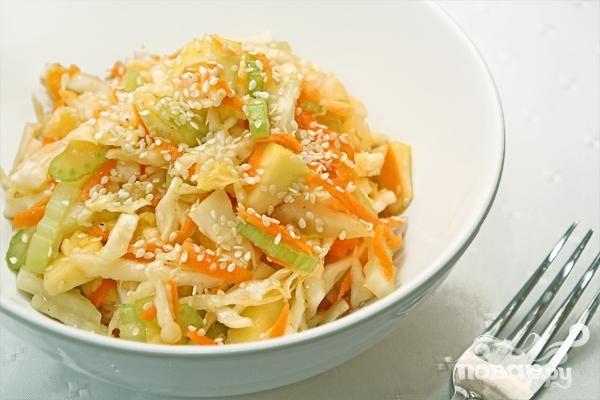Рецепт Капустно-овощной салат