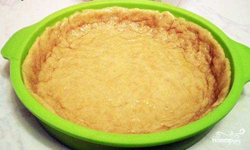 Песочный пирог с творожной начинкой - фото шаг 9