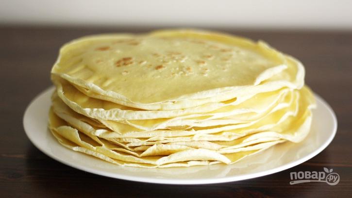 Блины на молоке с сливочным маслом рецепт с пошагово
