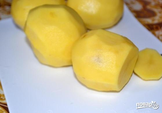 Запеченный картофель в мультиварке - фото шаг 1