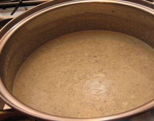 Суп-пюре с грибами   - фото шаг 7