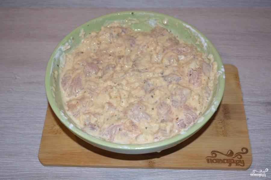Мясо по-албански в духовке - фото шаг 5