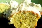 Маффины с зеленью и сыром