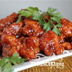 Рецепт Запеченная курица барбекю