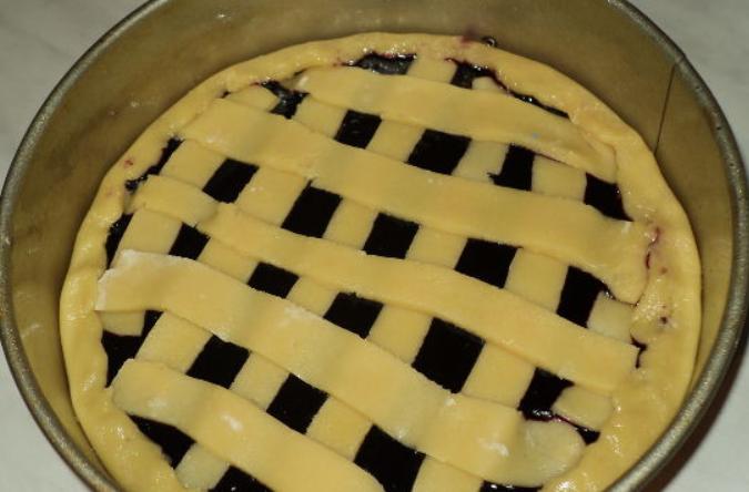 Пирог с черничным джемом - фото шаг 4