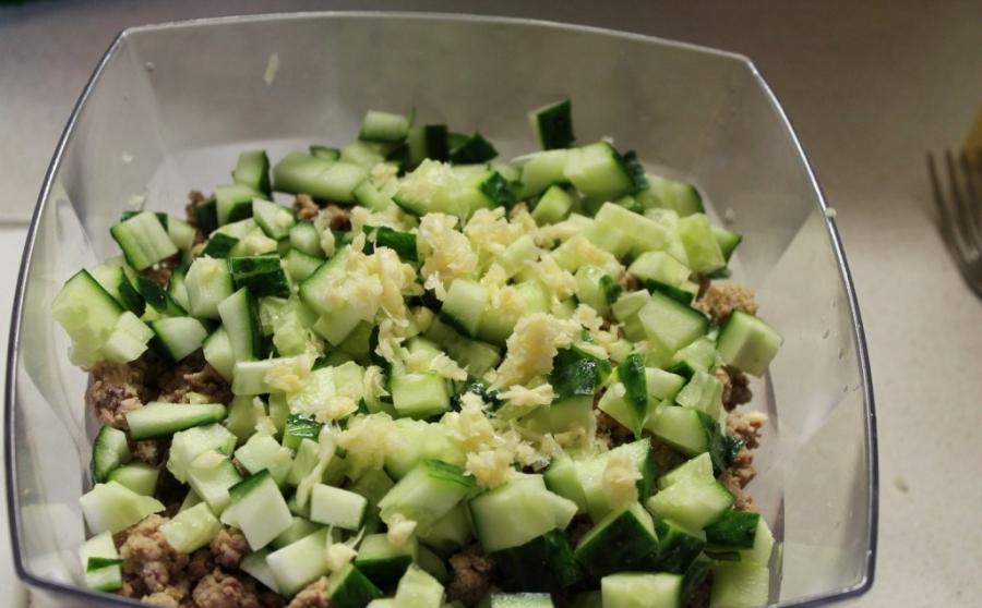 Салат за 5 минут - фото шаг 2