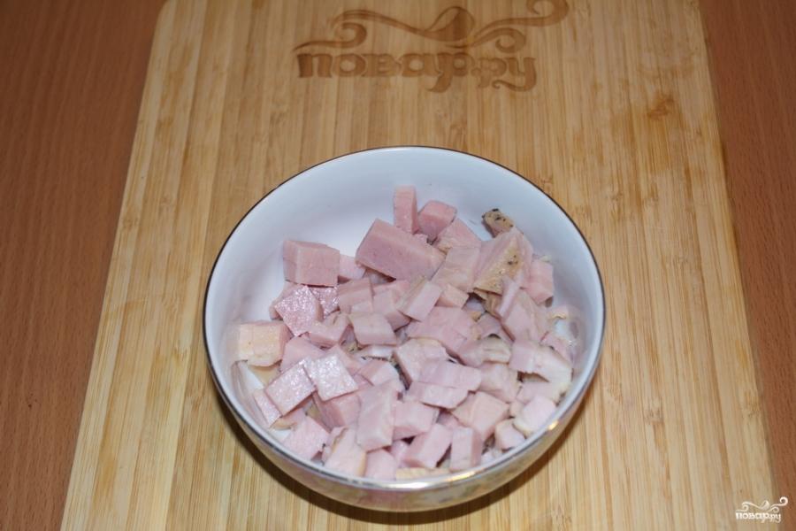 Солянка сборная с колбасой - фото шаг 2