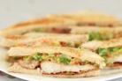 Сэндвичи с рыбой и капустой