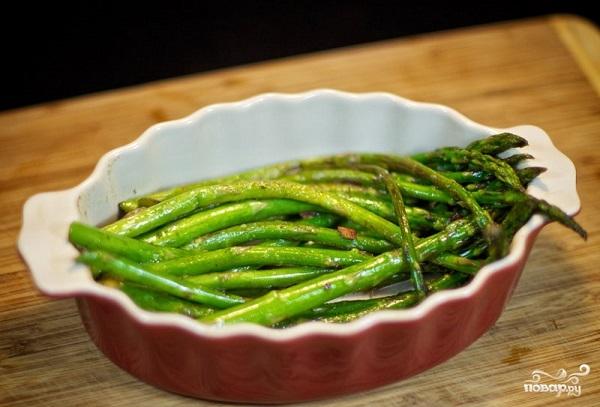 Как приготовить спаржу зеленуюы на сковороде