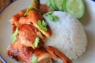 Курица под соевым соусом