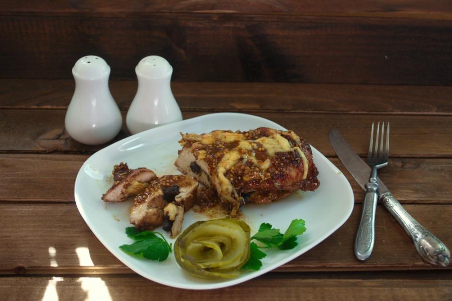 Мясо с черносливом в духовке - фото шаг 6