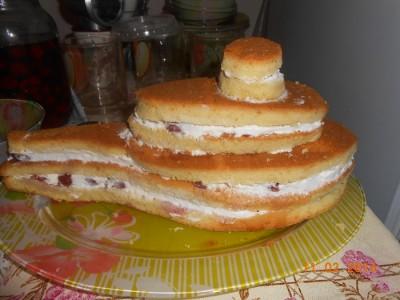 """Торт """"Вертолет"""" - фото шаг 5"""