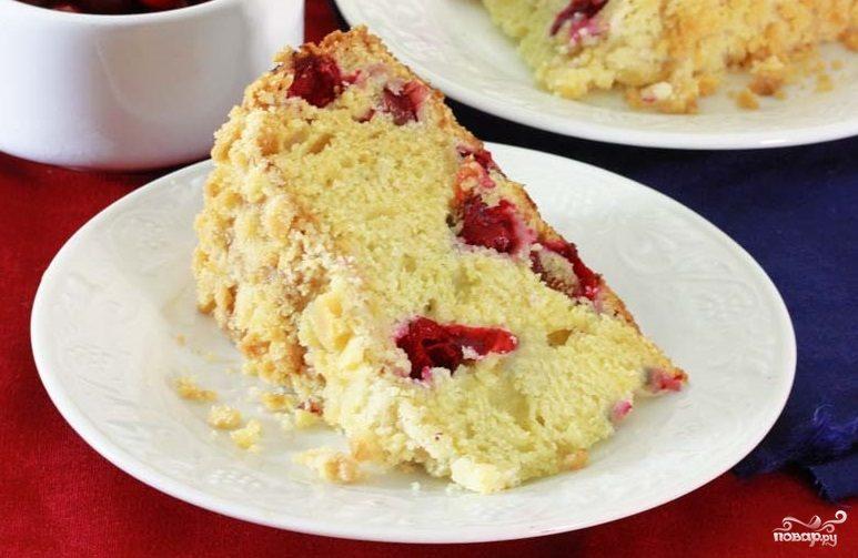 сметанный торт с персиками рецепт