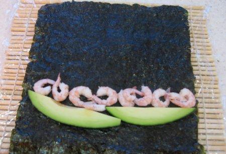 Суши с кунжутом - фото шаг 6