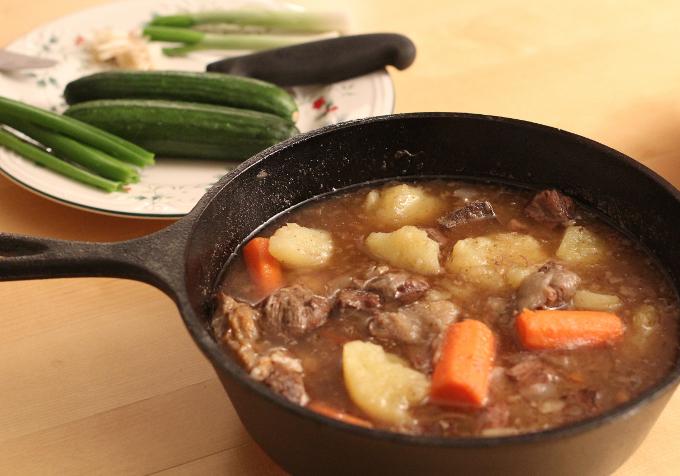 как приготовить салат мясо по-русски