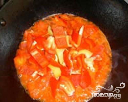 Баранина на косточке с помидорами и вином - фото шаг 2