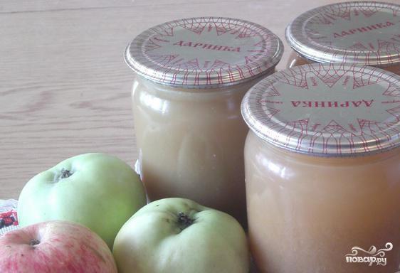Яблочный сок в домашних условиях - фото шаг 4
