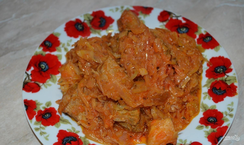 рагу со свининой и овощами в мультиварке рецепты