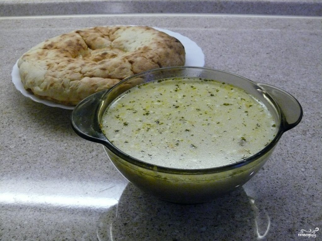 Гречневый суп с говядиной