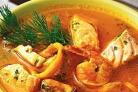 Рыбно-кукурузная похлебка