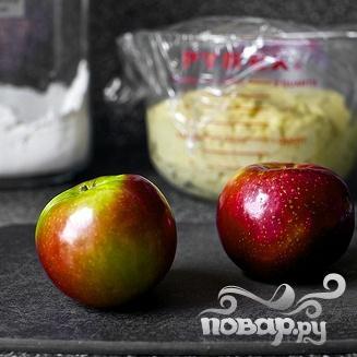 Хала с яблоками и медом - фото шаг 1