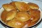 Пирожки с печенкой