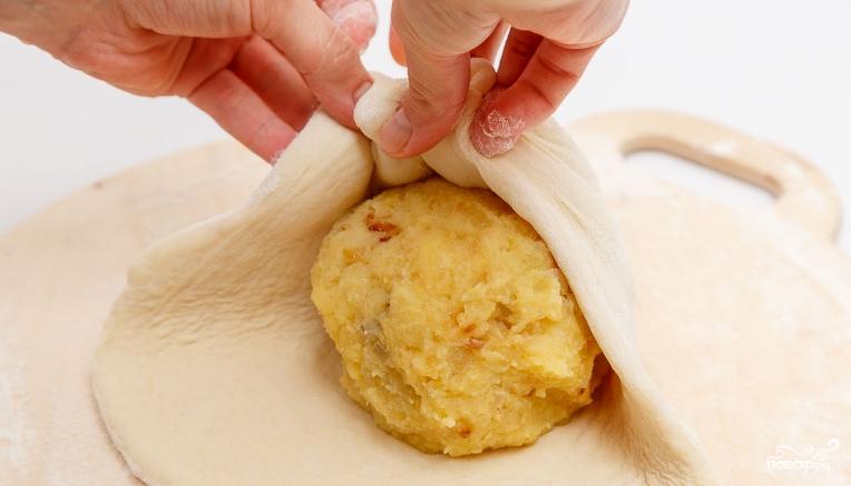 Осетинский пирог без дрожжей - фото шаг 2