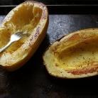 Рецепт Жареный сквош с грибами