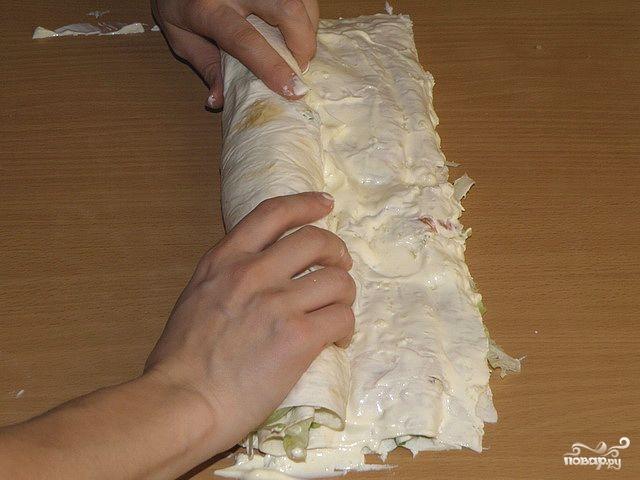 Лаваш с начинкой - рецепты с фото на Повар.ру (363 рецепта ...
