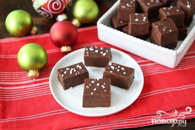 Шоколадный фадж (помадка)