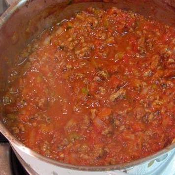Сырный Тортеллини с мясным соусом - фото шаг 13