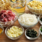 Рецепт Паста карбонара с кукурузой и чили