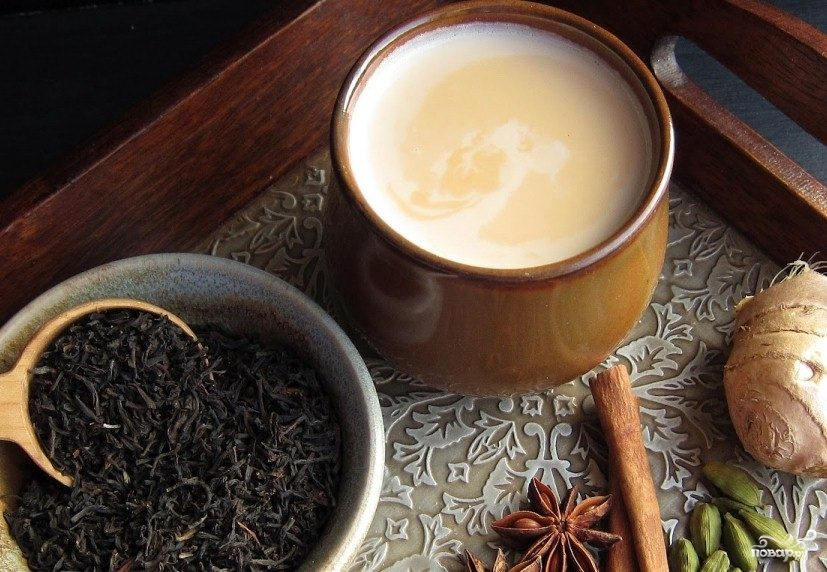 Зеленый чай с перцем