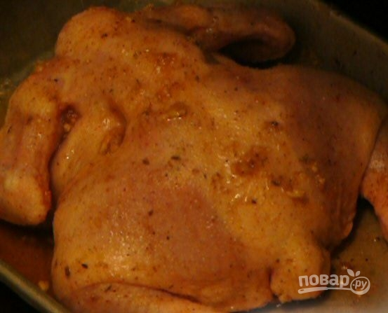 Вкусная курица в духовке - фото шаг 4