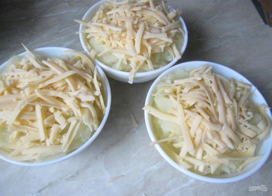 Картофельное пюре с сыром - фото шаг 7